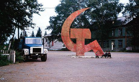 Rusko. Rendez-vous v Irkutsku? Třeba u srpu s kladivem