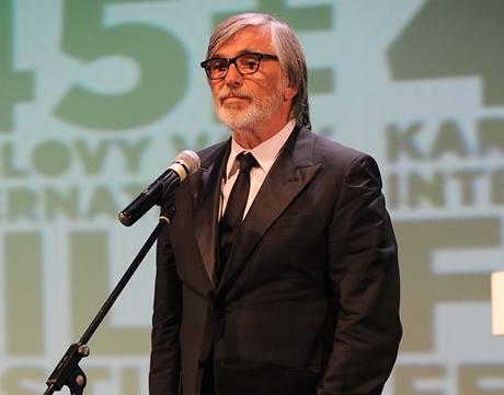Úvodní řeč filmového festivalu patřila řediteli Jiřímu Bartoškovi