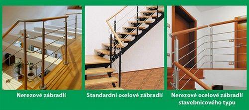 J.A.P. spol. s r.o. - schodiště