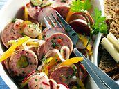 Wurst salát.