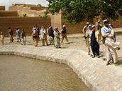 Češi opravují přivaděče vody v Afghánistánu