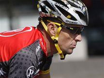 Trénink před startem slavné Tour de France. Lance Armstrong