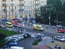 V centru Brna srazil opilý mladík dvě chodkyně, osmačtyřicetiletá žena nehodu nepřežila