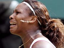 Serena Williamsová v semifinále Wimbledonu