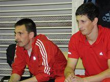 Libor Capalini (vlevo) a Ondřej Polívka