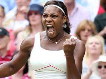 Serena Williamsová ve finále Wimbledonu