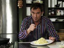 Emanuele Ridi s hotovou klasikou: aglio olio e peperoncino