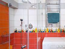 Teplo v koupelně zabezpečuje otopný žebřík