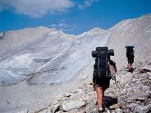 Rusko, Sajany. Poslední výstup na vrchol hory Munku-Sardyk