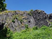 Nejvyšší místo Ronova, hradní citadela