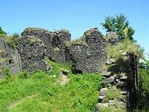 Zřícenina hradu Ronova