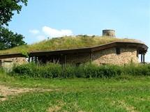 Vila s travnatou střechou v Těptíně