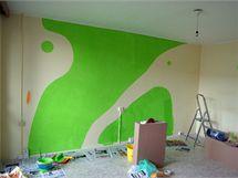 Na stěně bude slon a žirafa. Inspirace z fitness klubu