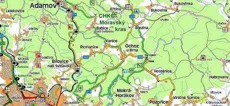 Moravský kras a Masarykův les
