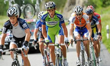 TOP VÝSLEDEK. Roman Kreuziger dojel v 8. etapě Tour de France na čtvrtém místě.
