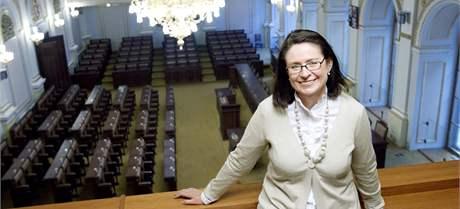 Miroslava Němcová se stala první místopředsedkyní Poslanecké sněmovny.