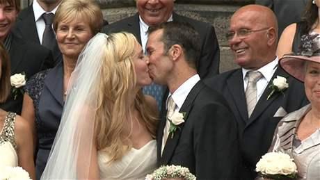 Štěpánek svatba