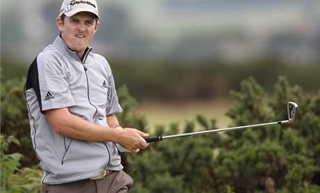 Justin Rose, trénink na British Open 2010.