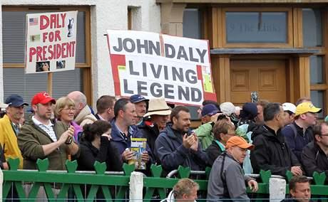 Fanoušci Johna Dalyho, British Open 2010.