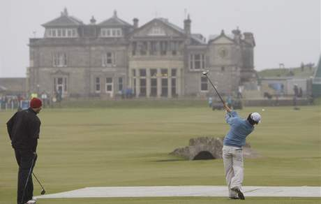 Rory McIlroy, British Open, trénink