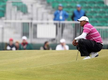 Tiger Woods, 1. kolo British Open, St. Andrews