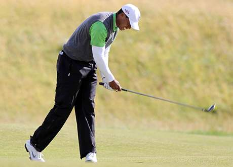 Tiger Woods, British Open, St. Andrews, 2. kolo