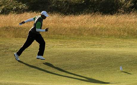 Tiger Woods, British Open. St. Andrews, 2. kolo