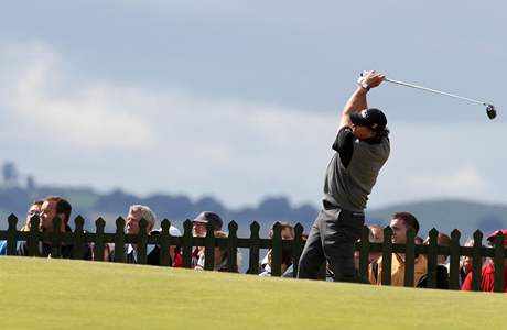 Phil Mickelson, British Open. St. Andrews, 3. kolo