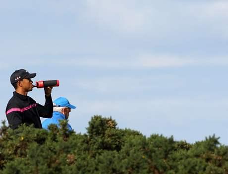 Tiger Woods, British Open, St. Andrews, 3. kolo