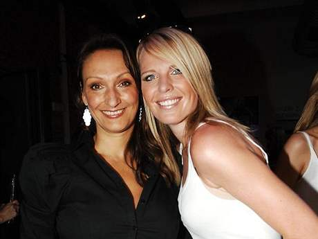Stylistka Claudie Marčeková s Dianou Kobzanovou