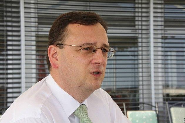 Petr Ne�as po setkání se slovenskou premiérkou Ivetou Radi�ovou