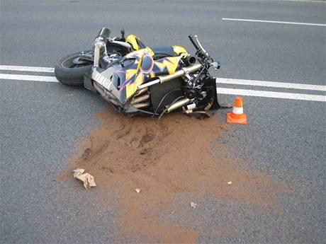 Tragická nehoda motorkáře na Várenské ulici v Ostravě