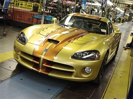 Poslední vyrobený Dodge Viper