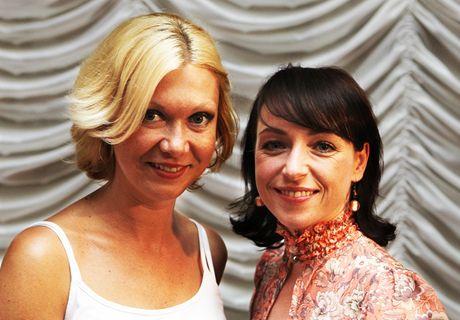 MFFKV 2010 - advokátka Klára Slámová s herečkou Tatianou Vilhelmovou
