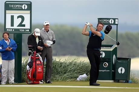 Phil Mickelson, trénink na hřišti St.Andrews před British Open 2010.