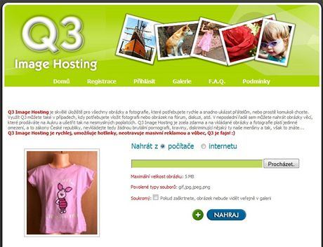 Q3 Image Hosting