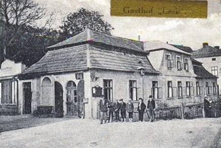 Historická pohlednice hospody U Prďoly v Kuksu