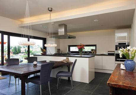 Kuchyně je centrem celého domu
