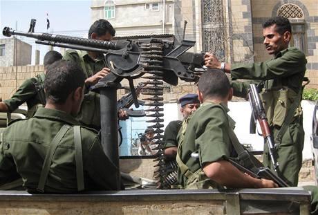 Jemenská policie chrání hlavní město Sanaa před útoky Al-Kajdy