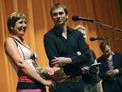 MFFKV 2010 - režisér Jiří Vejdělek s miliontou divačkou filmu Ženy v pokušení