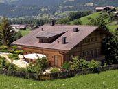 Chata režiséra Romana Polanského ve švýcarském Gstaadu