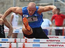 Petr Svoboda na atletickém mítinku v Ústí nad Labem