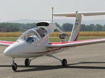 Představení letadla VUT 001 Marabu na letišti v Kunovicích