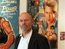 Sběratel filmových plakátů Wolfgang Stäbler vystavuje v brněnském Paláci šlechtičen svou sbírku