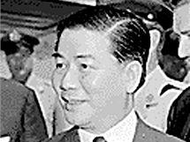 Vietnamský prezident Ngo Dinh Diem.
