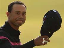 Tiger Woods, třetí kolo British Open 2010.