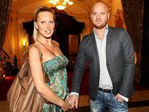 Simona Krainová s partnerem Karlem Vágnerem