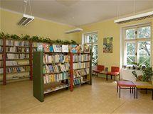 V kubistické vile sídlí od roku 1986 městká knihovna