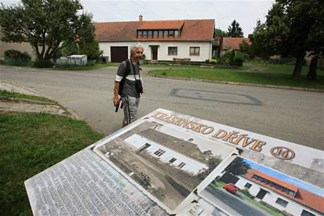 Pěší trasa Krásenskem ukazuje minulost a současnost míst v obci
