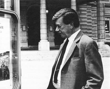 Zdeněk Sternberg ve Vídni, nejspíš v roce 1989